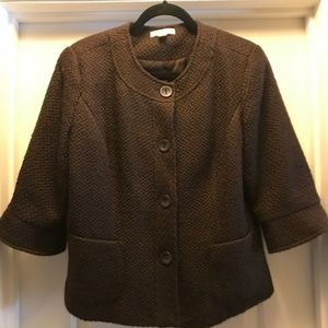 Coldwater Creek Brown Blazer